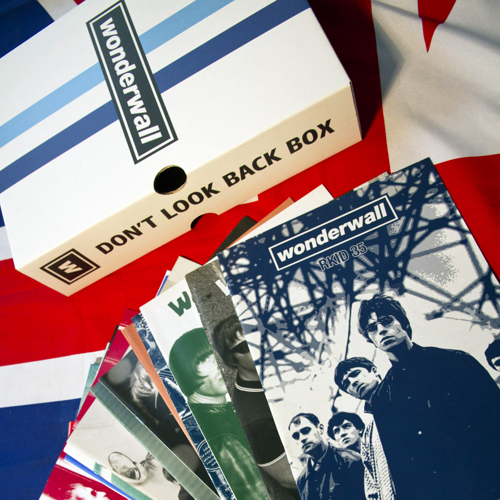 Don't Look Back Box Set (complete 34 Oasis fanzines collection)