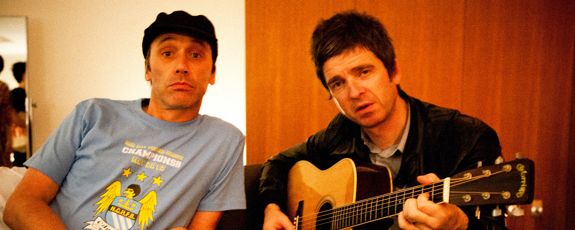 Phil Smith and Noel Gallagher